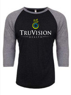TruVision Screen Print Baseball Shirt