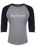 TruVision Screen Print Baseball Grey Shirt