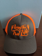 Hat Bright Orange FlexFit Small / Medium