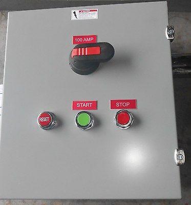 ABB SIZE 1 STARTER COMBO BREAKER  Type CPT 120V Up to 10HP @ 480V NEW