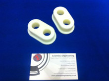 Cosworth Replacement Uprated Nylon Bushes For Billet Rear Diff Mounts (Motorsport app)