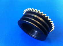 Billet Aluminium Cosworth YB Crank Pulley 36-1