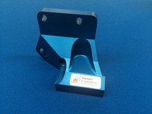 Billet Alloy All In One Alternator Drop Bracket Cosworth YB Anodised Blue