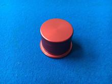 Focus RS / ST Mk2 Symposer / Dump Valve Aluminium Blanking Plug Anodised Red