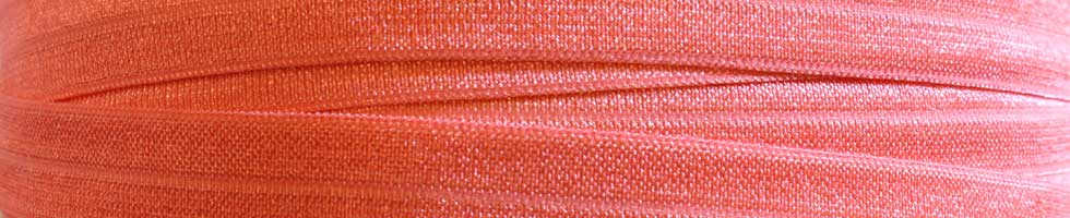 Solid Fold Over Elastic - Pinks