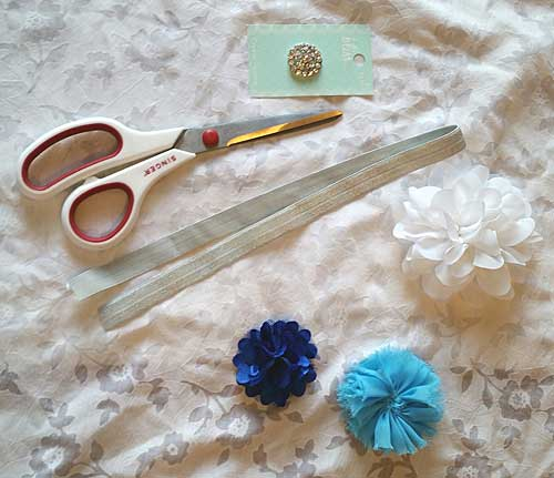 Cinderella inspired headband tutorial