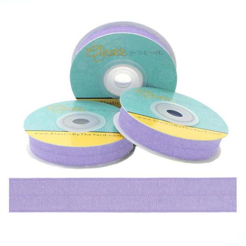 Tropical Purple Fold Over Elastic
