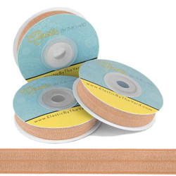 Natural Fold Over Elastic