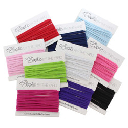 50yd Multi Pack Skinny Elastic 10 Colors 5yd Each