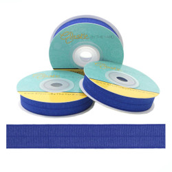 "Cobalt Blue 5/8"" Fold Over Elastic"