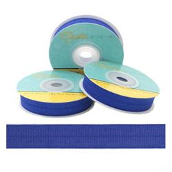 "Cobalt Blue 5/8"" Fold Over Elastic"