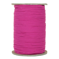 "Hot Pink Skinny Elastic 1/8"" 288 Yard Roll"