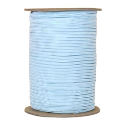"Light Blue Skinny Elastic 1/8"" 288 Yard Roll"