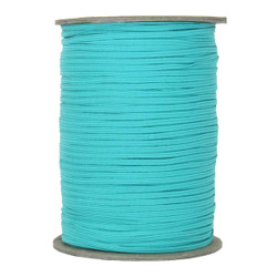 "Turquoise Skinny Elastic 1/8"" 288 Yard Roll"