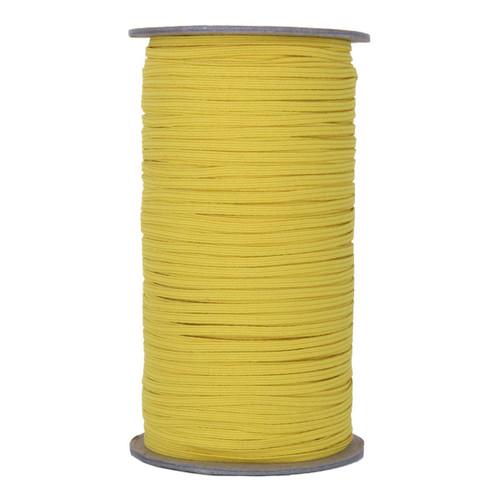 """Sunflower Yellow Skinny Elastic 1/8"""" 288 Yard Roll"""