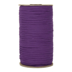 "Purple Skinny Elastic 1/8"" 288 Yard Roll"