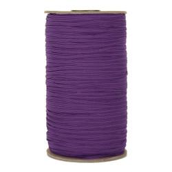 "Purple Skinny Elastic 1/8"" 288 Yard Roll"