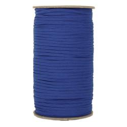 """Royal Blue Skinny Elastic 1/8"""" 288 Yard Roll"""