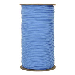 "Columbia Blue Skinny Elastic 1/8"" 288 Yard Roll"