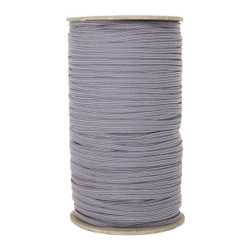 "Gray Skinny Elastic 1/8"" 288 Yard Roll"
