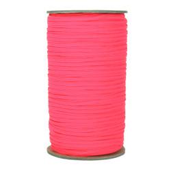 "Neon Pink Skinny Elastic 1/8"" 288 Yard Roll"