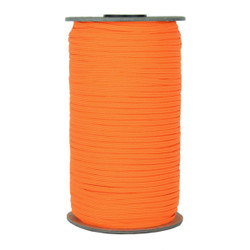 "Neon Orange Skinny Elastic 1/8"" 288 Yard Roll"