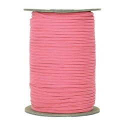 "Medium Pink Skinny Elastic 1/8"" 288 Yard Roll"