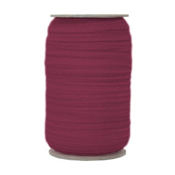 Wine Fold Over Elastic 100yd