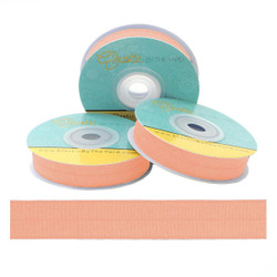"Peach 5/8"" Fold Over Elastic"