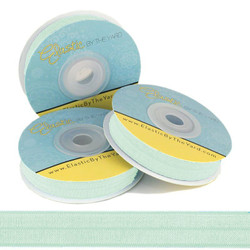 "Frosted Meadow 5/8"" Fold Over Elastic"