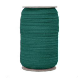 Forest Green Wholesale Fold Over Elastic 100yd