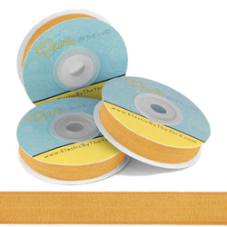 Gold Honey Fold Over Elastic