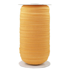 Gold Honey Wholesale Fold Over Elastic 100yd
