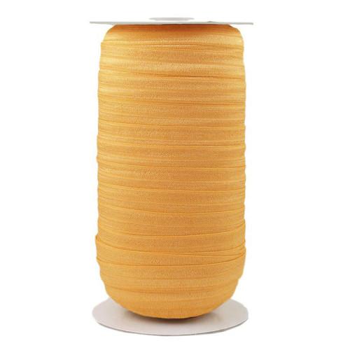 Gold Honey Wholesale Fold Over Elastic 100yd