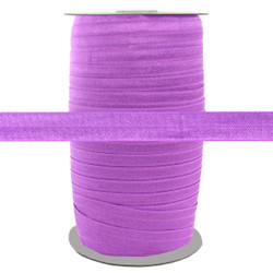 """Lilac Wholesale 5/8"""" Fold Over Elastic 100yd"""