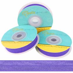 """Violet 5/8"""" Fold Over Elastic"""