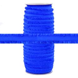 "Fringe Blue Sapphire 1/2"" Fold Over Elastic 100yd"
