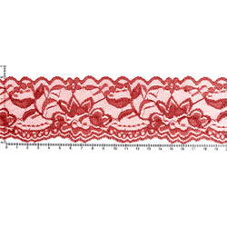 Cranberry Garden Lace - 2.25 inch Width - Lace Elastic