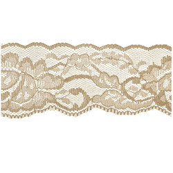 Nude Flower Lace - 60mm - Lace Elastic