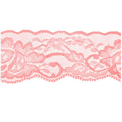Pink Flower Lace - 2 inch - Lace Elastic