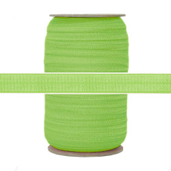 "Apple Green 5/8"" Fold Over Elastic 100yd"
