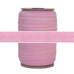 "Mauve Wholesale 5/8"" Fold Over Elastic 100yd"