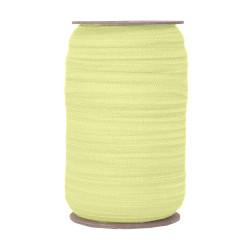 "Pale Yellow Daisy Wholesale 5/8"" FOE 100yd"