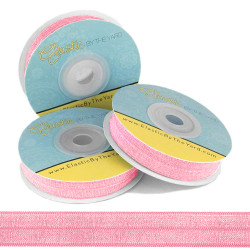 "Flamingo 5/8"" Fold Over Elastic"