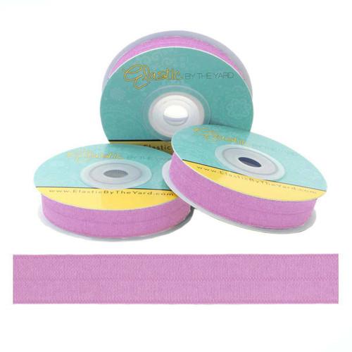 Lavender Fold Over Elastic