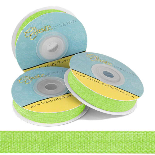 Neon Green Fold Over Elastic