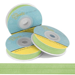 Lime Fold Over Elastic