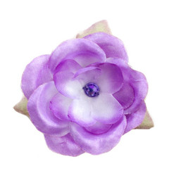 Jessica  Purple Silk Flower