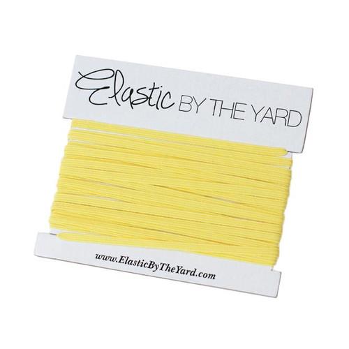 Bright Yellow Skinny Elastic