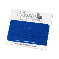 "Royal Blue 1/8"" Skinny Elastic"